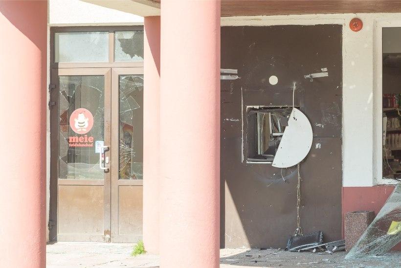 GRAAFIK | Vaata, kus Eestis on pangaautomaate röövitud