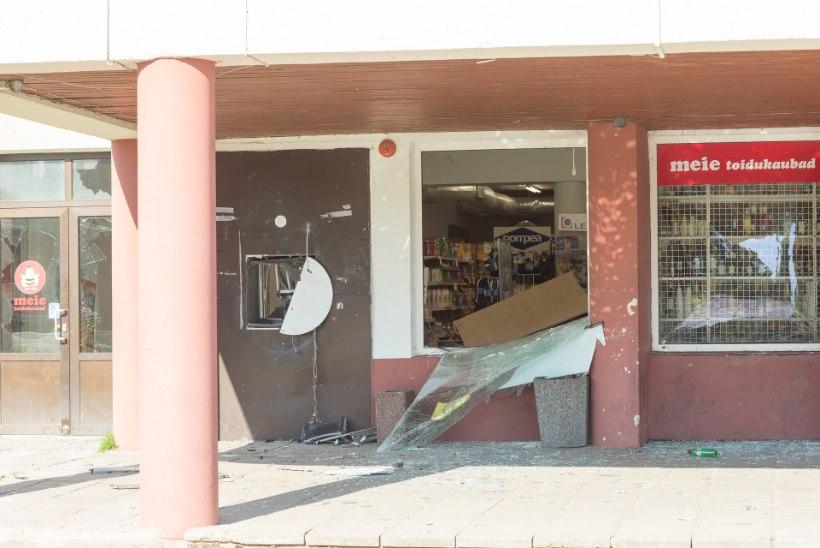Pangaautomaadi õhkimine: jurakas oli nii kõva, et aknaraamid värisesid!