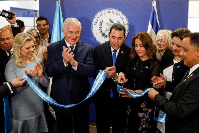 4a3e5b63c41 USA jälgedes: Jeruusalemmas avas saatkonna ka Guatemala | Õhtuleht