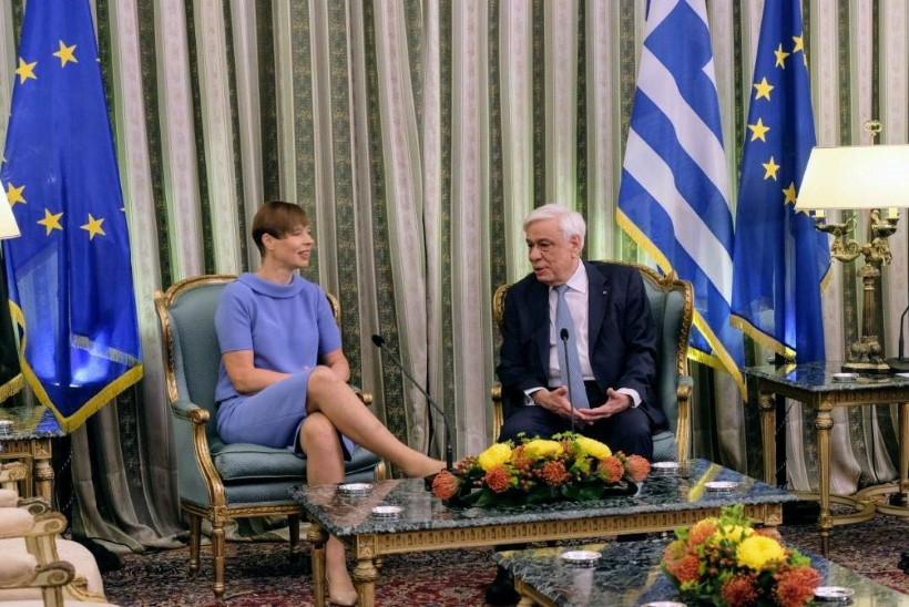 FOTOD  ja VIDEOD   Kaljulaid kohtub Kreekas riigi presidendi ja peaministriga