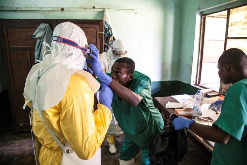 Ebolapuhang Kongo DV-s: surmav nakkushaigus jõudis maapiirkonnast linna