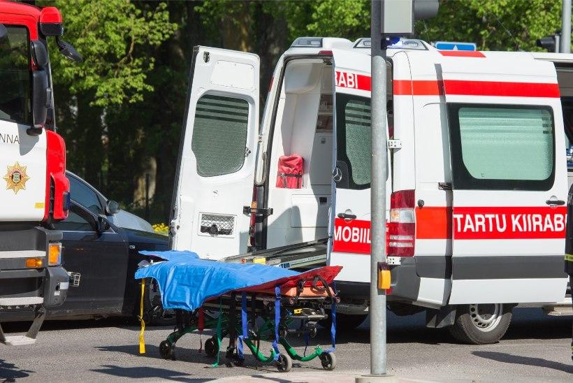 Viiele liiklejale lõppes eilne päev haiglas