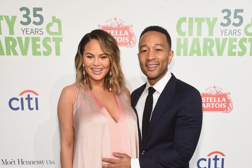 Chrissy Teigen ja John Legend said teise lapse