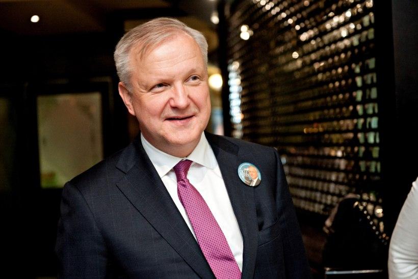 Soome keskpanga uueks juhiks nimetati Olli Rehn