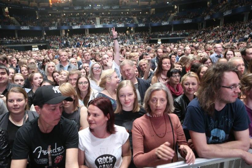GALERII | Bryan Adams rokkis Saku Suurhallis