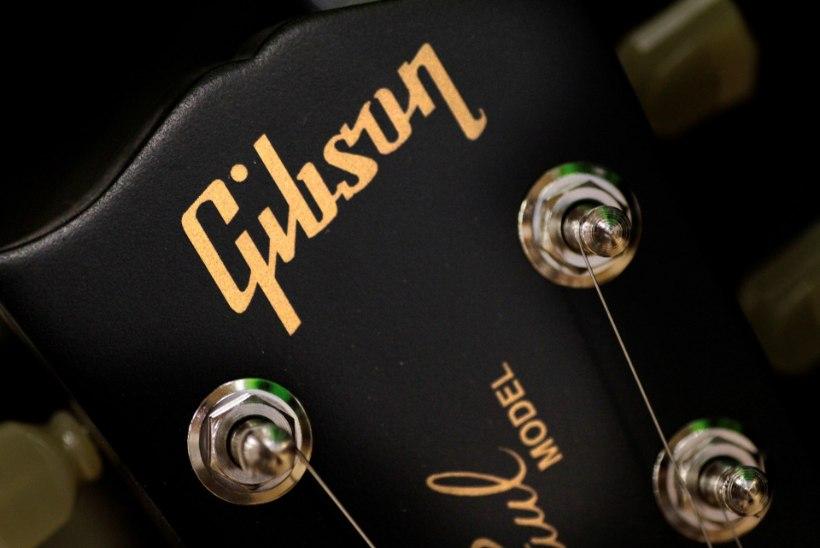 Legendaarne kitarritootja Gibson kuulutas välja pankroti