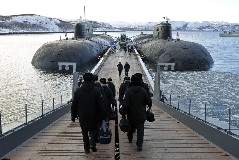 JÕUDEMONSTRATSIOON: Venemaa toob suvel Soome lahele taas tuumaallveelaeva