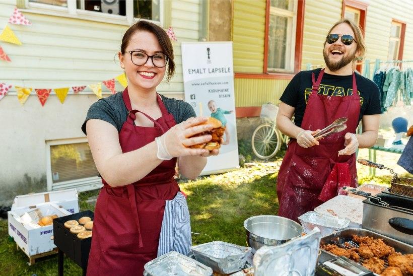 GALERII | Hoovikohvikud pakkusid Kalamaja päevadel süüa