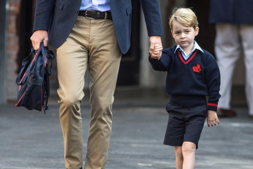 Prints George kandis onu Harry pulmas esmakordselt PIKKI PÜKSE!