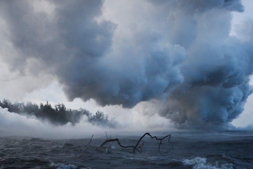 GALERII | Olukord Hawaiil on jätkuvalt kriitiline, teatati ka Kilauea esimesest ohvrist