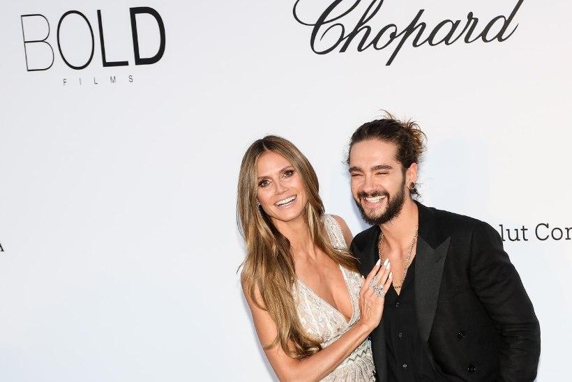 PEPUST KRABAMINE: 44-aastase Heidi Klumi 28-aastane kutt käsi paigal ei hoia...
