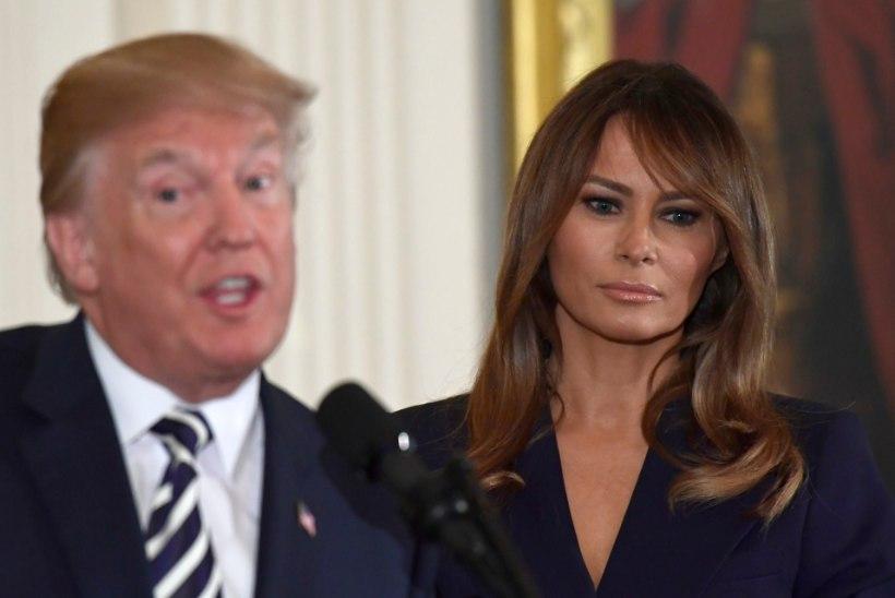 Donald Trump kirjutas oma naise nime valesti