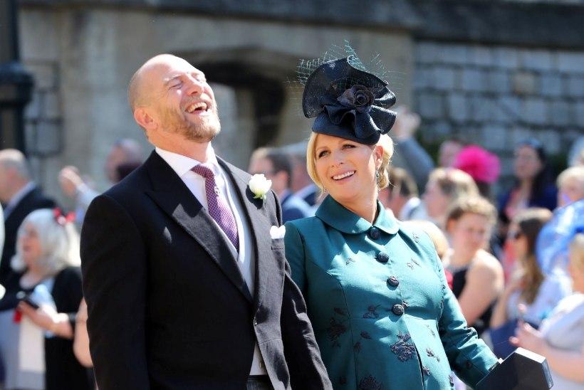 Printsess Anne'i tütar osales oma nõo Harry pulmas täisrasedana