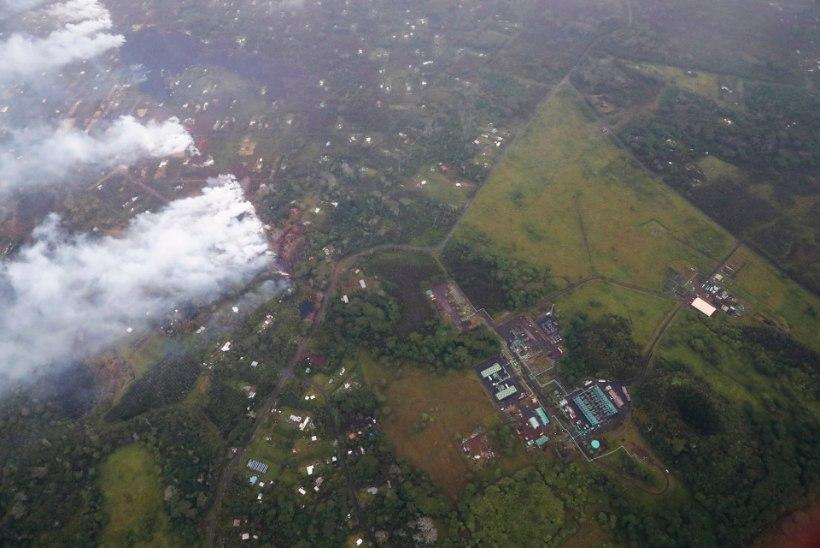 HAWAII HIRMUL: laava jõudis elektrijaama lävele