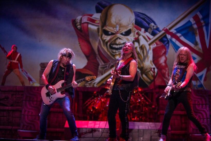 Iron Maiden soovib lava taha massaažituba ja mahlabaari