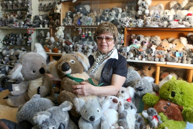 VAHVA HOBI | Külli magamistoas on end sisse seadnud pool tuhat koaalat