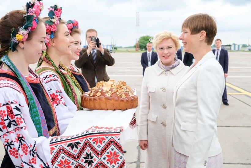 GALERII | Vaata, kui soojalt Kaljulaid Ukrainas vastu võeti