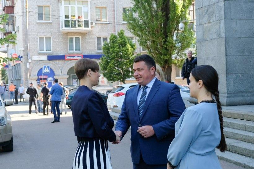 GALERII | Kaljulaid kõneleb Ukrainas naiste ettevõtlusest