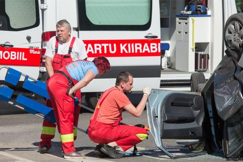 Möödunud ööpäeval vajas arstiabi 15 liiklusõnnetuse ohvrit