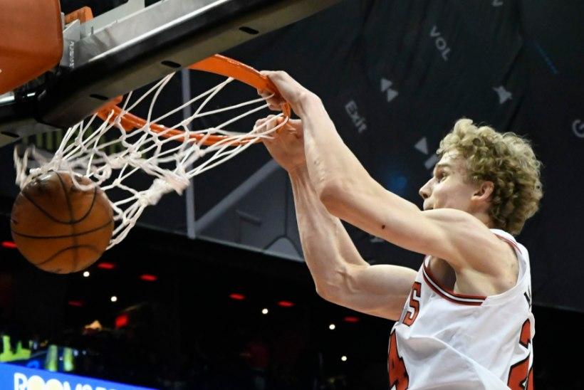 NBA uustulnukate esimesse viisikusse mahtus ka soomlane Lauri Markkanen