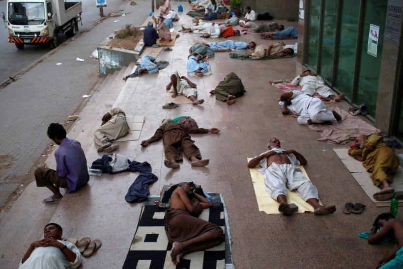 FOTOD | Pakistani on tabanud kuumalaine, hukkunud on vähemalt 65 inimest