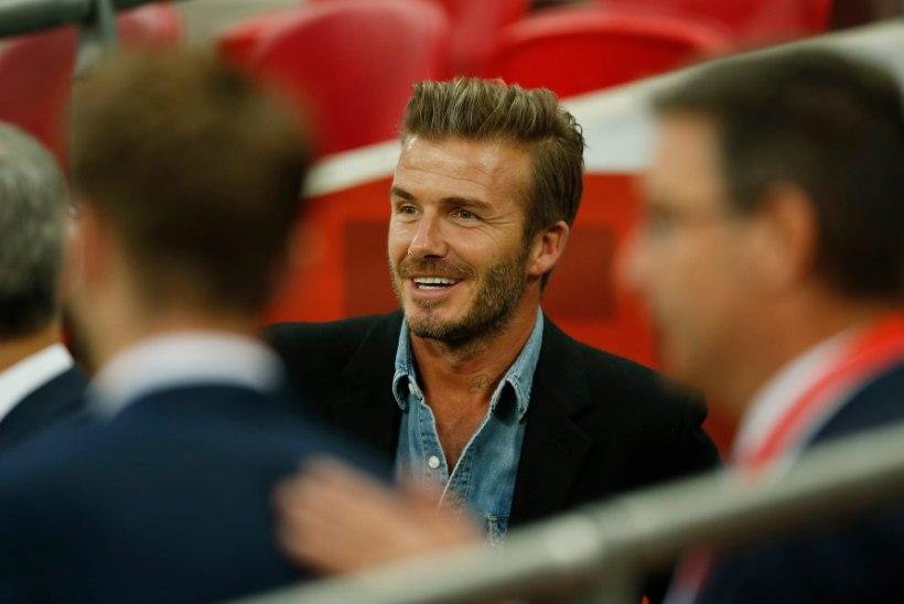 """""""Peaasi, et Liverpool ei võidaks!"""" Beckham esitas Zidane'ile meeleheitliku palve"""