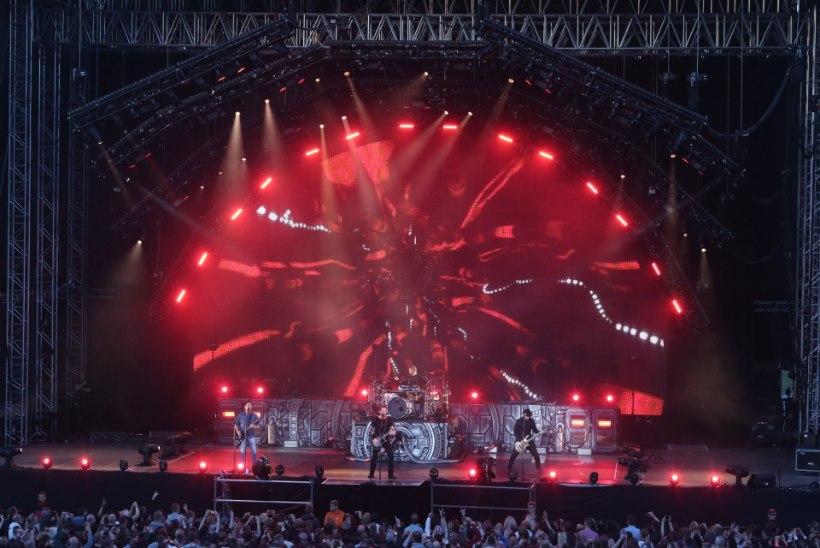 GALERII | Vaata, kes tulid rokkbändi Nickelback kontserdile