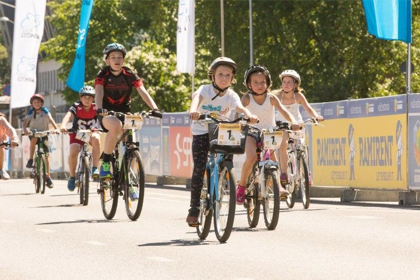 GALERII | Tartu Rattarallil olid võistlustules lapsed