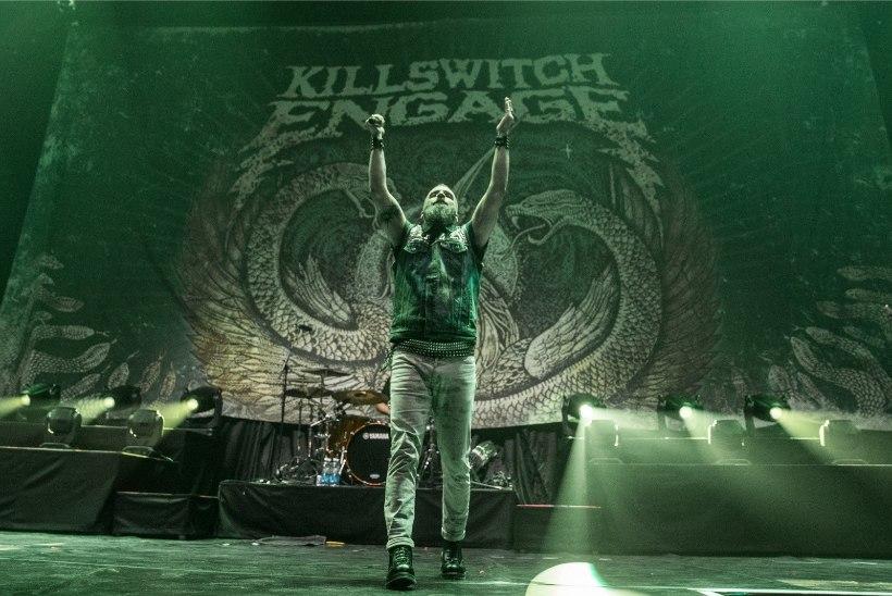 RAJU GALERII! Killswitch Engage küttis publiku Iron Maideni jaoks kuumaks