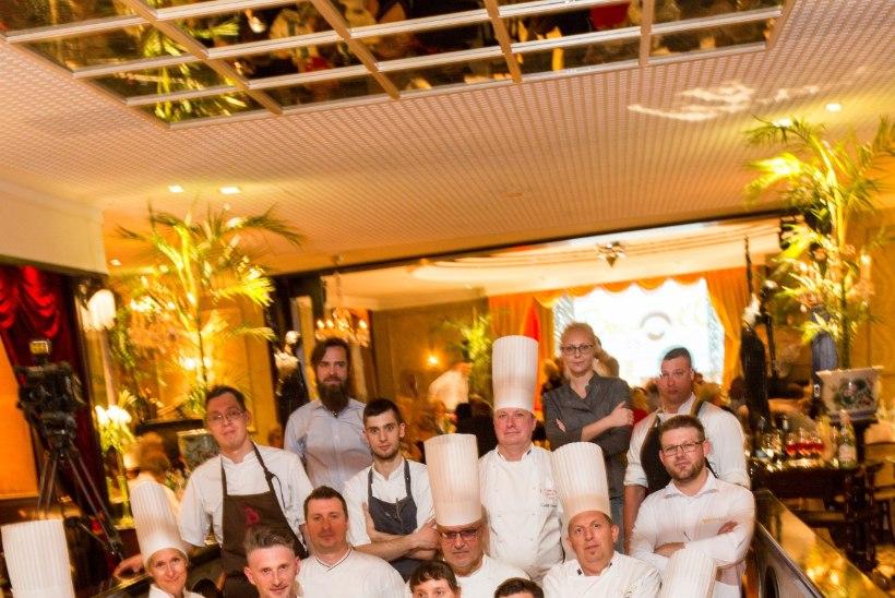 GALERII | Eesti meeskond läheb kokkade olümpiale kukeseente ja kapsarullidega