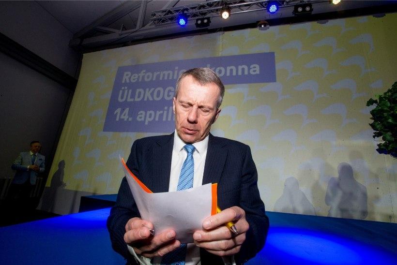 Endine minister saatis Ragnar Klavani suunas terava pilke