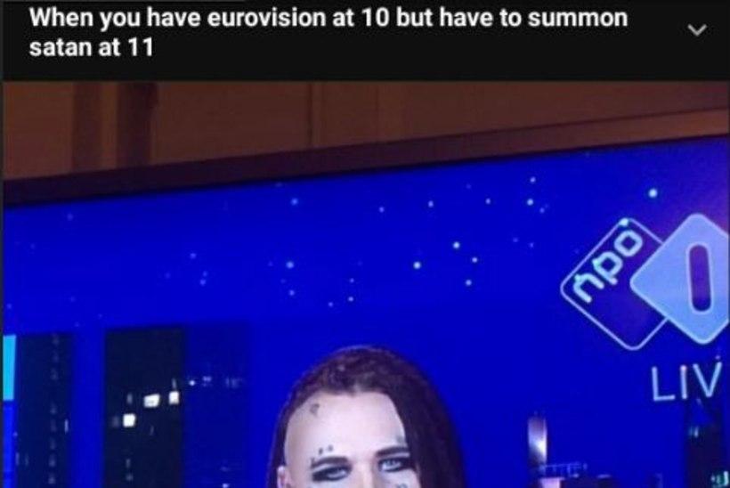 Eurovisioni korraldajad pidasid Evestust satanistiks: tekkis kahtlus, et tahan läbi telekanali vanapaganat välja kutsuda