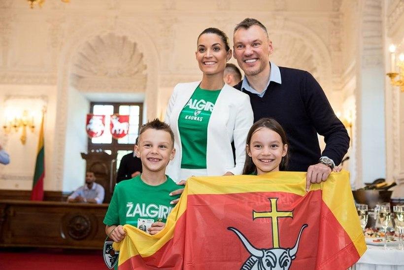 Šarunas Jasikeviciusest sai Kaunase aukodanik