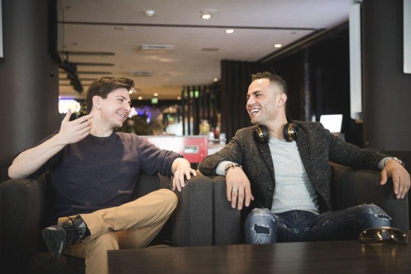 MITU TILKA VETT! Messi ja Ronaldo (teisikud) Tallinnas: meil on täiega vedanud
