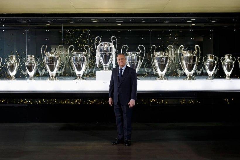 OH HÄDA! Madridi Reali trofeekapis pole Meistrite liiga karika jaoks ruumi