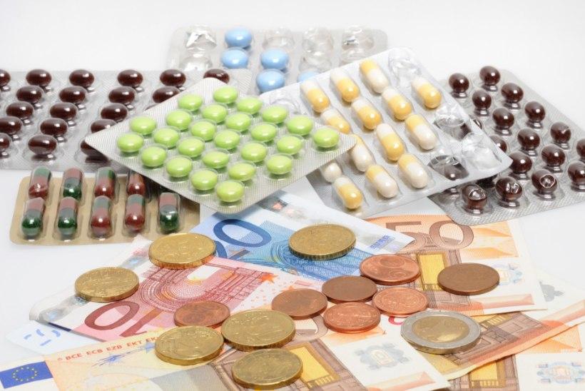 Haigekassa tasus mullu soodusravimite eest ligi 200  miljonit eurot