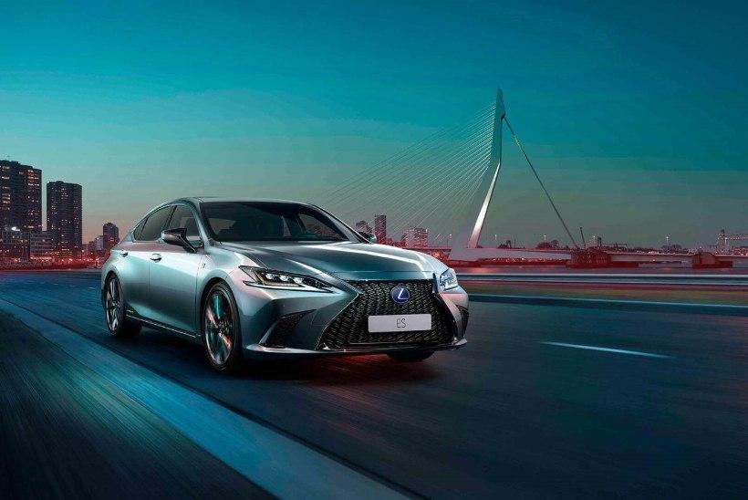 Seitsmenda generatsiooni Lexus ES võlub elegantsi ja suurepärase sõidetavusega