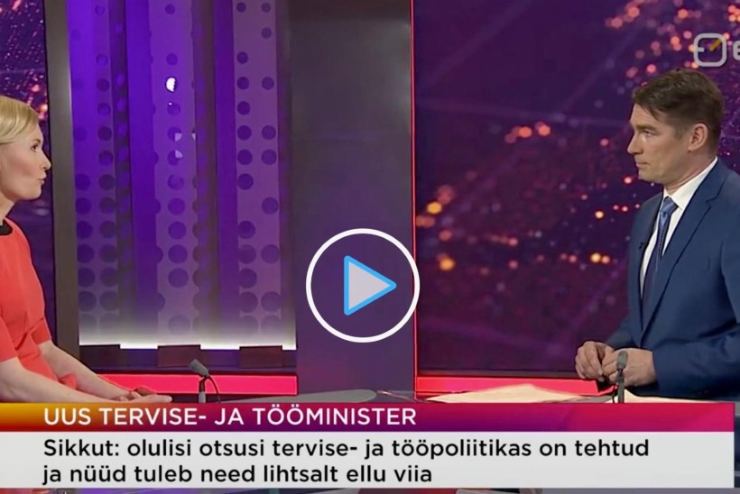 GALERII | Tim Bluz analüüsib uue ministri Riina Sikkuti kostüüme: erksad värvid sobivad talle ideaalselt