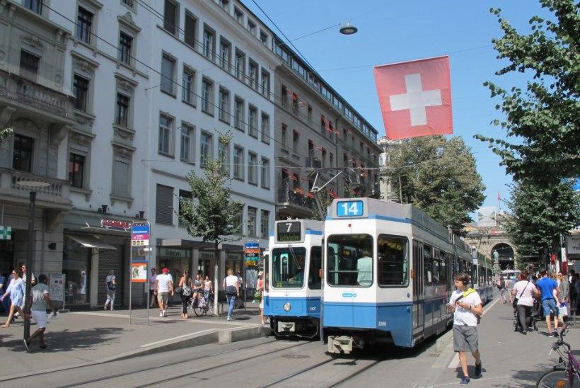 VÄRSKE UURING: maailma kalleim linn on endiselt Zürich