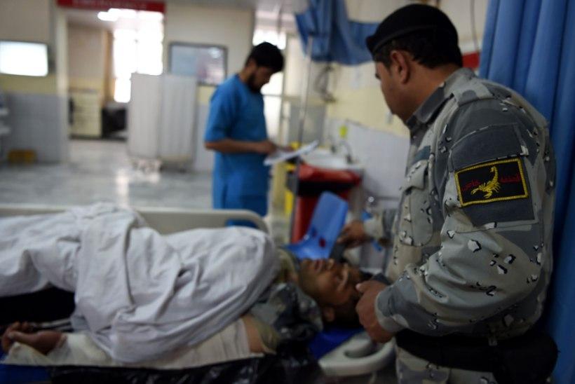 Afganistanis rünnati siseministeeriumi hoonet