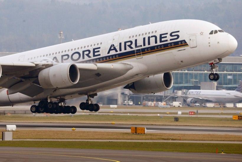 Kõige rohkem rahvusvahelisi lende tehakse Singapuri ja Malaisia vahel