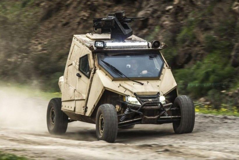 VÄGEV SÕJAVÄEMASIN: Iisraelis valmis soomustatud ATV