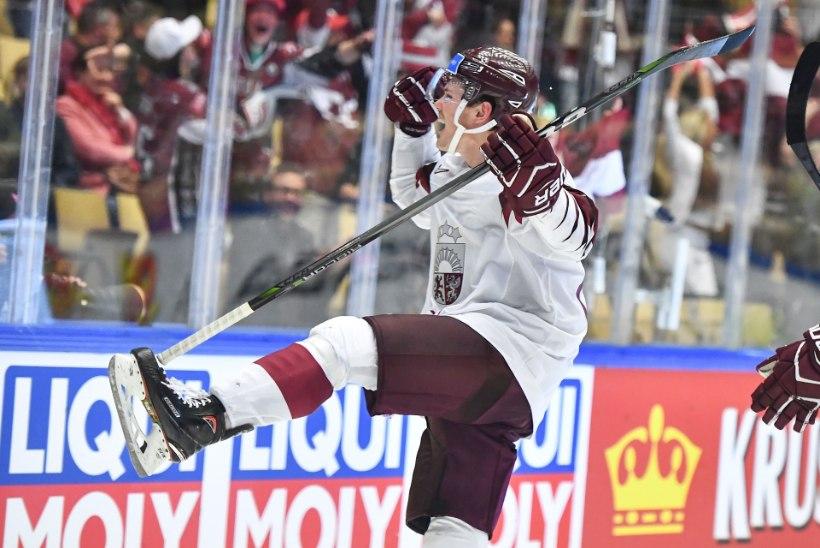 JÄÄHOKI MM: Läti rabeles Norra vastu kaotusseisust välja ja nõelas lisaajal välkkiirelt