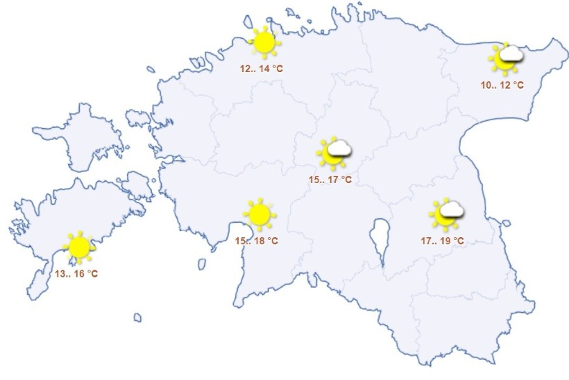 Otsige päikesekaitsekreem välja, suvesoe on tulekul!