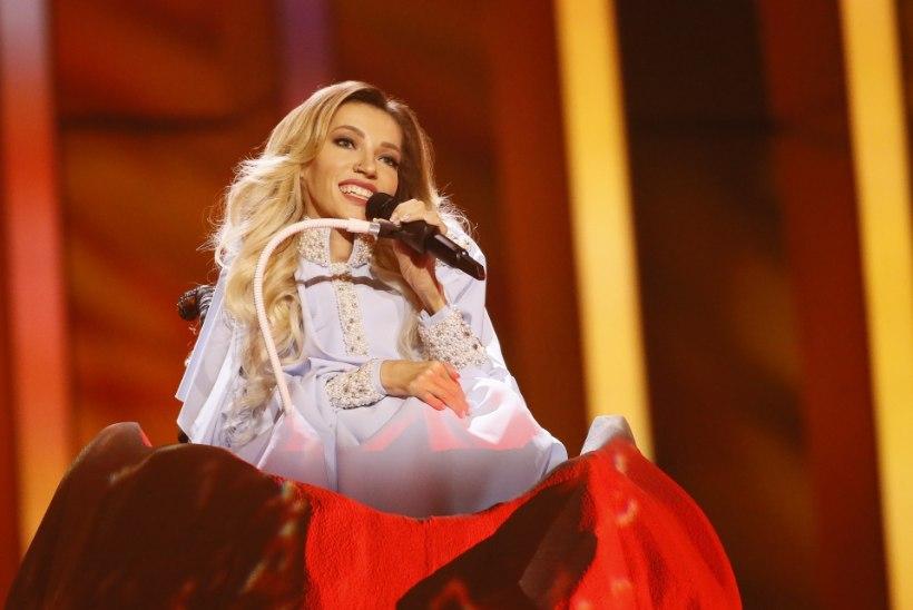 VIDEO | Delegatsiooniliige Venemaa eurolauljast: Julia pole Celine Dion, ta on laulja ratastoolis
