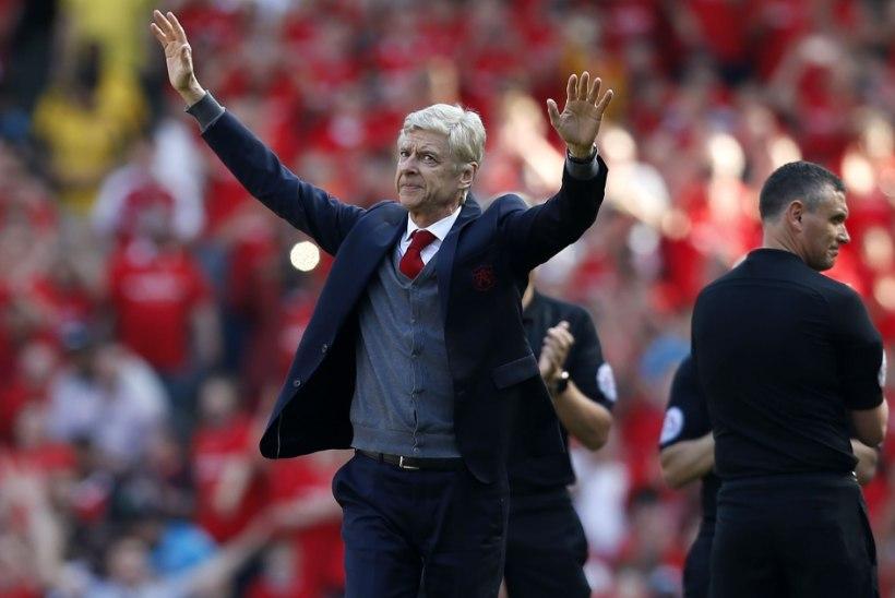 VIDEO | Arsenali kodupublik jättis legendaarse Wengeriga väärikalt hüvasti
