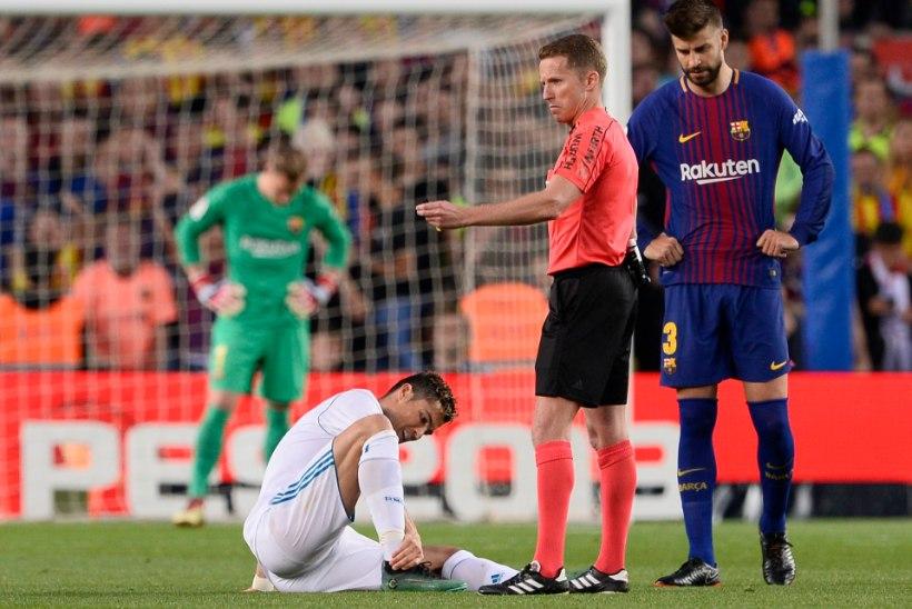 EI HULLU! Vigastatud Ronaldo saab Meistrite liiga finaaliks jalad alla