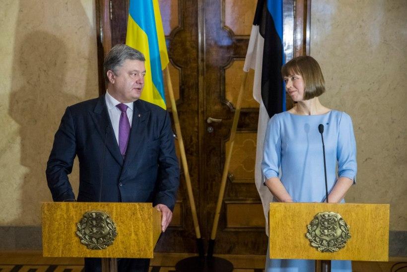 Kaljulaid sõidab Ukraina presidendi kutsel Meistrite liiga finaalmängu vaatama