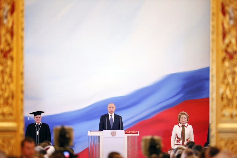 OTSEVIDEO   Putin vannutati neljandat korda presidendiks