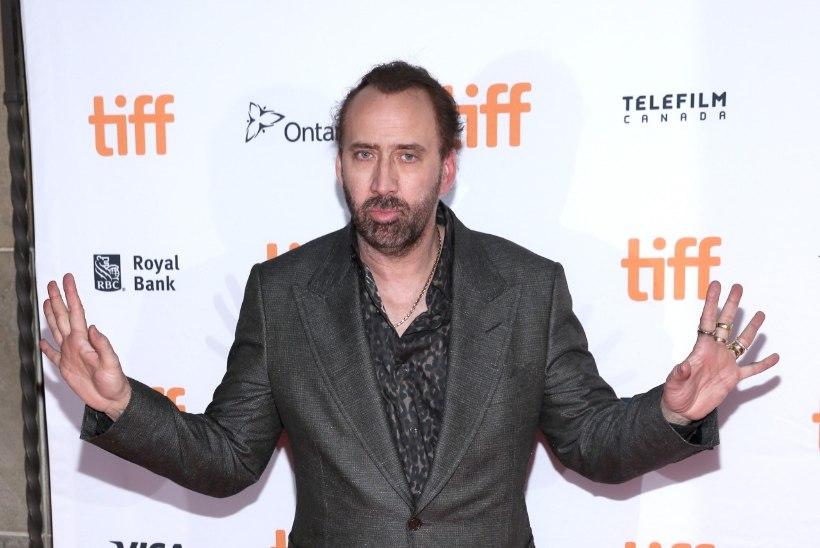Nicolas Cage ei käinud poja pulmas